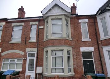 Thumbnail 8 bed terraced house to rent in Marlborough Road, Stoke, Coventry