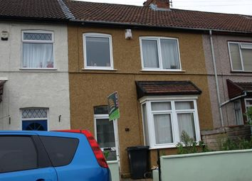 Thumbnail 3 bedroom terraced house to rent in Walton Avenue, St. Annes Park, Bristol