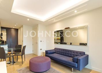 Thumbnail 1 bedroom flat to rent in Cobblestone Square, London
