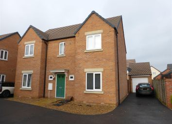 Thumbnail 4 bed detached house for sale in Libertas Drive, Cardea, Peterborough