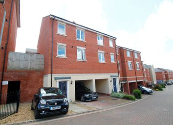 Thumbnail 4 bedroom town house for sale in Meridian Rise, Ipswich