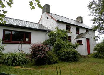 Thumbnail 2 bed detached house for sale in Plwmp, Llandysul