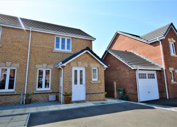 Thumbnail 2 bed semi-detached house for sale in St. Ilid's Meadow, Llanharan, Pontyclun