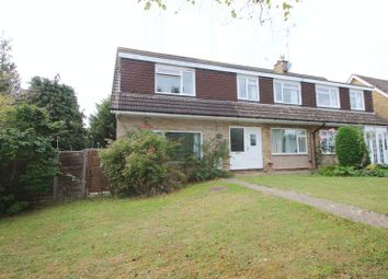 Thumbnail 4 bed semi-detached house for sale in Fawley Close, Cranleigh