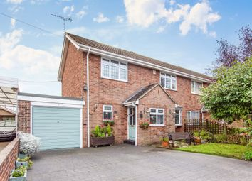 Thumbnail 2 bed semi-detached house for sale in Silver Lane, Elvaston, Thulston
