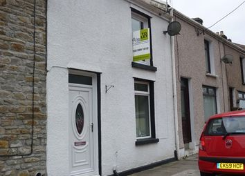 Thumbnail 2 bed terraced house to rent in Station Row, Pontyrhyl, Bridgend