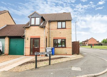 Thumbnail 3 bedroom link-detached house for sale in Birchvale Court, Desborough, Kettering