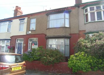 Thumbnail 4 bed terraced house for sale in Parkhill Road, Birkenhead, Wirral, Merseyside