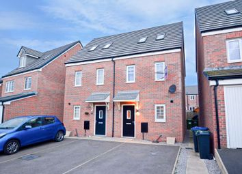 Thumbnail 3 bed semi-detached house for sale in Bellaport Gardens, Harrington, Workington