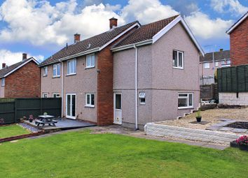 Thumbnail Semi-detached house for sale in Sunnybank Close, West Cross, Swansea