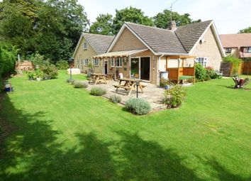 Thumbnail 4 bed detached bungalow for sale in Priory Gardens, Chesterton, Peterborough