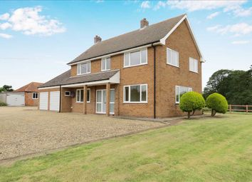 Thumbnail 4 bed detached house to rent in Bourne Road, Folkingham, Sleaford