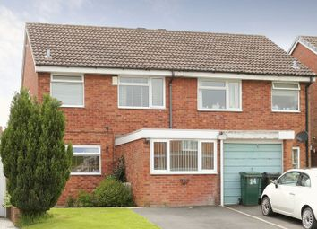 Thumbnail 3 bed semi-detached house for sale in Cherrybrook Drive, Broseley