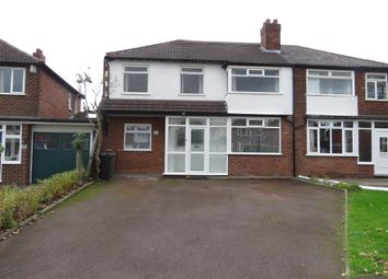 Thumbnail 3 bedroom semi-detached house for sale in Delves Green Road, Walsall