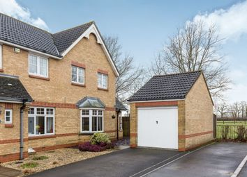 Thumbnail 3 bed semi-detached house for sale in Terrier Close, Hedge End, Southampton