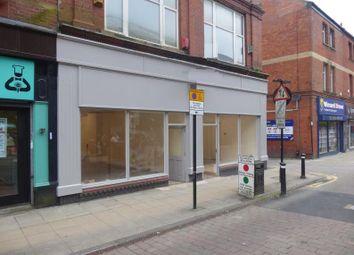 Thumbnail Retail premises to let in 62, Market Street, Wigan