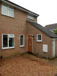 Thumbnail 4 bedroom end terrace house to rent in Otter Way, Eaton Socon, St. Neots
