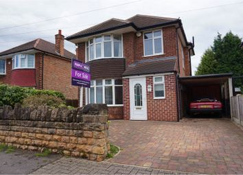 Thumbnail 3 bed detached house for sale in Hollinwell Avenue, Wollaton