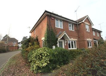 Thumbnail 3 bed end terrace house to rent in Tiggall Close, Earley, Reading, Berkshire