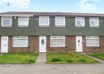 Thumbnail 3 bed terraced house for sale in Thornbury Close, Newcastle Upon Tyne