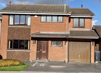 Thumbnail 4 bed detached house for sale in Blackburn Road, Barwell, Leicester