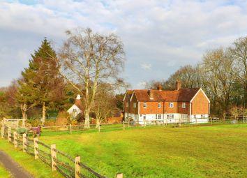 Frant Road, Frant, Near Tunbridge Wells TN3. 4 bed farmhouse for sale