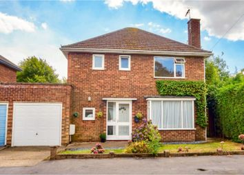 Thumbnail 3 bed detached house for sale in Bamford Close, North Hykeham