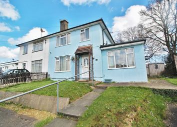 Thumbnail 4 bed semi-detached house for sale in Bramley Crescent, Southampton