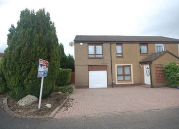 Thumbnail 4 bed semi-detached house for sale in Ormiston Drive, East Calder