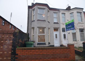 Thumbnail 3 bed terraced house to rent in Ash Villas, Ashville Road, Wallasey