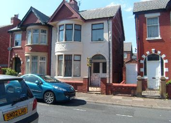 Thumbnail 3 bed semi-detached house to rent in Manor Road, Blackpool