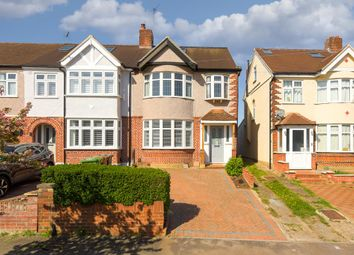 Thumbnail 4 bed end terrace house for sale in Elmstead Gardens, Worcester Park