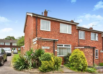 Thumbnail 3 bed end terrace house for sale in Byfield Court, Norwich