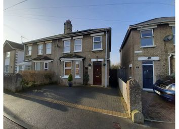 St. Johns Wood Road, Ryde PO33. 4 bed semi-detached house for sale
