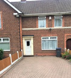 Thumbnail 3 bed terraced house to rent in West Boulvard Road, Quinton. Birmingham