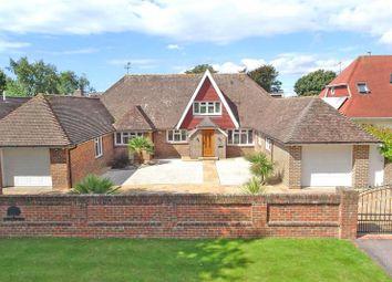 Thumbnail 4 bed detached house for sale in Ferringham Lane, Ferring, Worthing