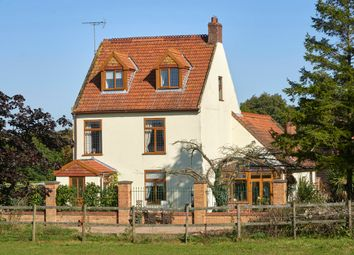 Thumbnail 4 bed farmhouse for sale in Wade Hall Lane, North Cove, Beccles