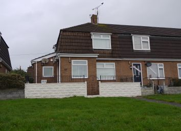 Thumbnail 2 bed end terrace house for sale in Shelley Crescent, Barry