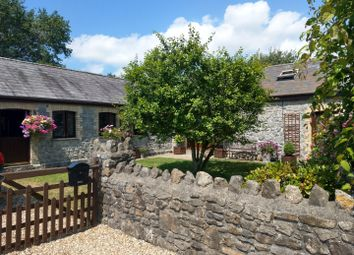 Thumbnail 3 bed barn conversion for sale in St David's View, Llandewi, Gower, Swansea