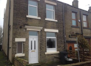Thumbnail 1 bed end terrace house to rent in Mill Lane, Boothtown, Halifax