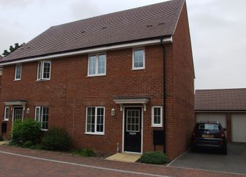 Thumbnail 3 bed semi-detached house to rent in School Drive, Woodley