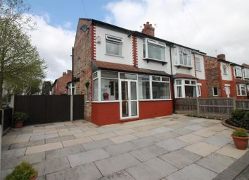 Thumbnail 3 bedroom semi-detached house for sale in Brook Road, Urmston, Manchester
