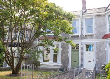 Thumbnail 5 bed terraced house for sale in Alma Road, Pennycomequick, Plymouth