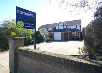 Thumbnail 4 bedroom detached house for sale in Cutbush Lane, Shinfield, Reading