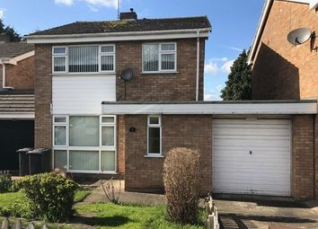 Thumbnail 3 bed detached house to rent in Colebrook Close, Leicester