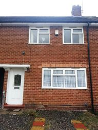 Thumbnail 2 bed terraced house to rent in Overdale Road, Quinton, Birmingham