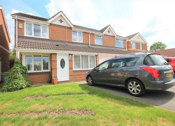 Thumbnail 3 bed semi-detached house for sale in Wensleydale Grove, Ingleby Barwick, Stockton-On-Tees