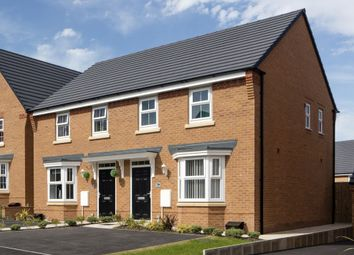 "Thumbnail 3 bedroom semi-detached house for sale in ""Archford"" at Burnby Lane, Pocklington, York"