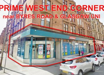 Thumbnail Commercial property for sale in 449-455, Dumbarton Road, West End, Glasgow G116Dd