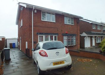 Thumbnail 2 bedroom semi-detached house to rent in Turnhurst Road, Packmoor, Stoke-On-Trent